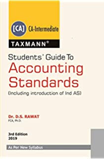 Amazon in: Buy Students' Guide to Accounting Standards (for
