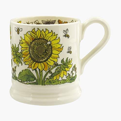 Emma Bridgewater Sunflowers and Bees Half Pint - Flowers Pint 1/2 Mug