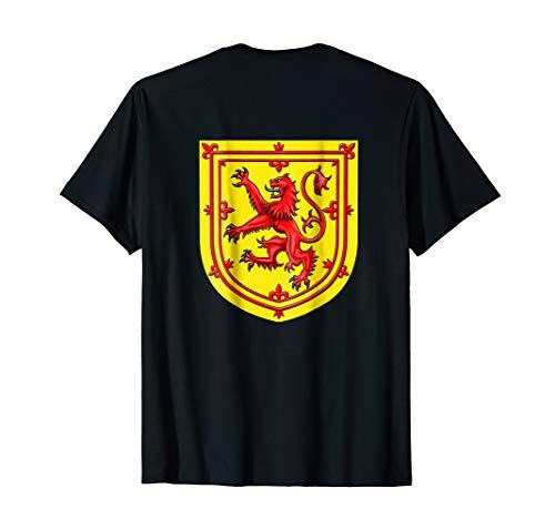(Scotland Lion Rampant Coat Of Arms T-Shirt)