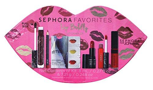 Sephora Favorites Lip Boldly lip sampler 6-pc set