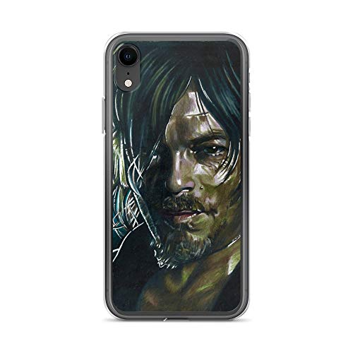iPhone XR Case Anti-Scratch Television Show Transparent Cases Cover Daryl Dixon Tv Shows Series Crystal Clear