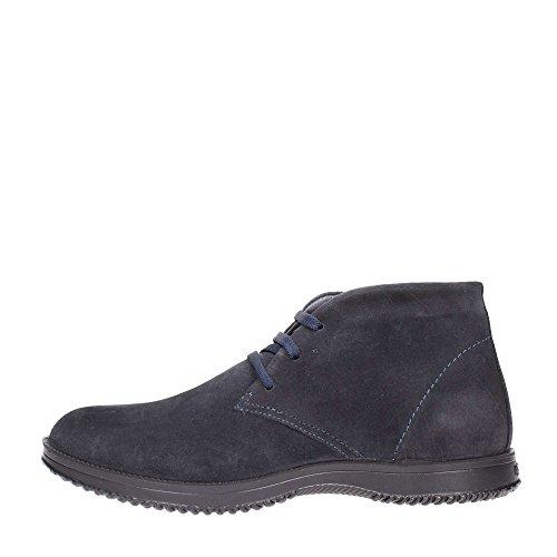 IGI & CO 66833 Hoch blue suede Sport Nacht Herrenschuhe Ankle Boots Spitzen-up Blu