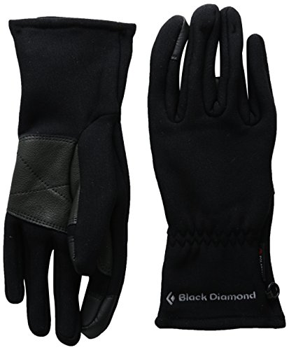 Midweight Liner (Black Diamond Mid Weight Digital Glove Liners, Black, X-Large)
