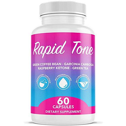 Rapid Tone Weight Loss Pills Supplement - Burn Fat Quicker - Carb Blocker, Appetite Suppressant, Fat Burner, Serotonin Increase - Natural Thermogenic Extreme Diet Fast WeightLoss for Women Men