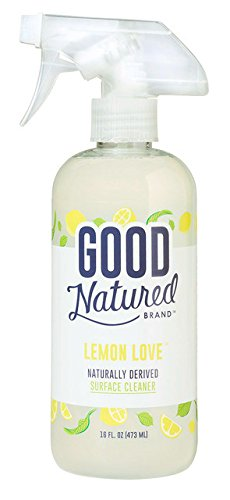 Good Natured Brand All-Natural Eco-friendly All Purpose Lemon Surface Cleaner, THE BEST Household Multi Surface Spray, Child and Pet Safe (Eco Friendly Natural)