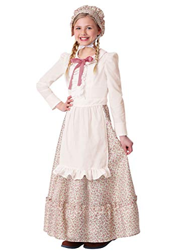 Girl's Prairie Pioneer Costume X-Large ()