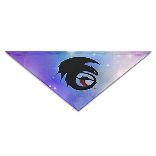 [Pet Bandanas - Personalized How To Train Your Dragon Toothless Pet Bandana Scarf - Triangle Scarf Collar Neckerchief For Dog] (Toothless Dragon Cat Costume)