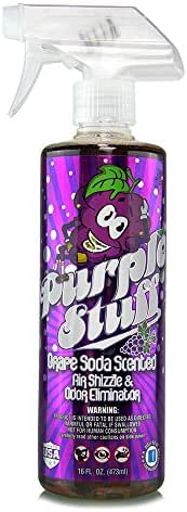 Chemical Guys AIR_222_16 Purple Stuff Grape Soda Scent Premium Air Freshener and Odor Eliminator (16 oz)