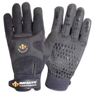 Impacto BG408, Anti-Vibration Air Glove Mechanic's Gloves, Medium