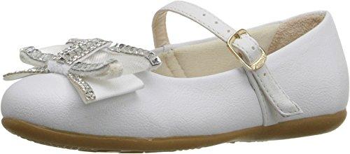 Pampili Girl's Ballarina 188.252 (Toddler/Little Kid) Branco Flat 27 (US