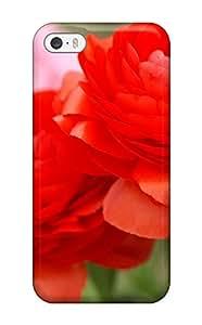 Heidiy Wattsiez's Shop Best For Iphone 5/5s Fashion Design Red Flowers Case 8579234K49527216