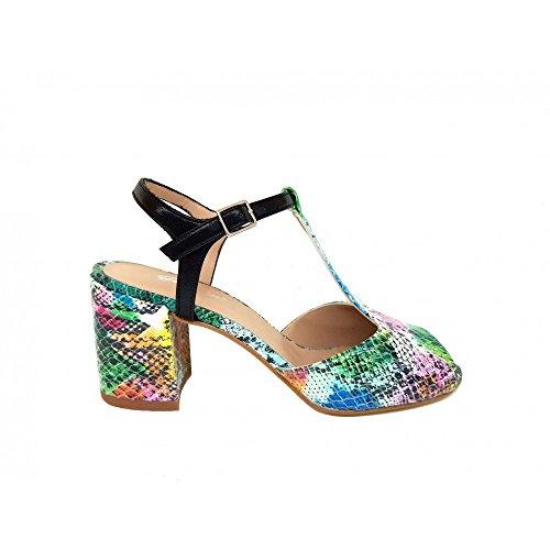 Gennia Femme Gennia Sandales Multicolore Sandales Femme Pour Femme Pour Sandales Multicolore Gennia Pour wTqaB1
