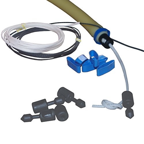 (3) Polespear Bridle / Speargun Wishbone Kit (Inserts, Spectra Cord,  Constrictor, Shrink Rings)