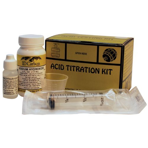 Titration Kit - Acid Testing Kit