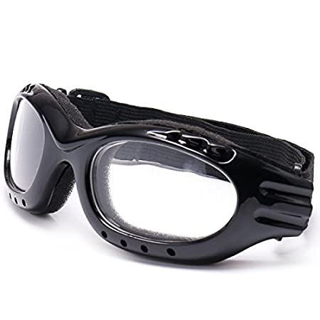 YONGYAO Full Rim Skiing Skate Glasses Outdoor Goggles Climbing Cycling Sunglasses Eyewear Lenses-Transparent