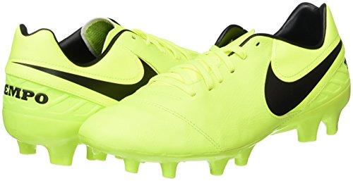 Da Uomo Calcio V Scarpe Fg Tiempo volt schwarz Mystic Gelb weiß Nike Giallo X0C1qn