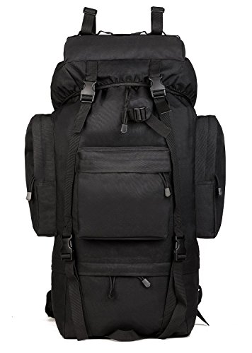 ArcEnCiel Waterproof Tactical Giant Hiking Camping Backpack with Rain Cover – DiZiSports Store