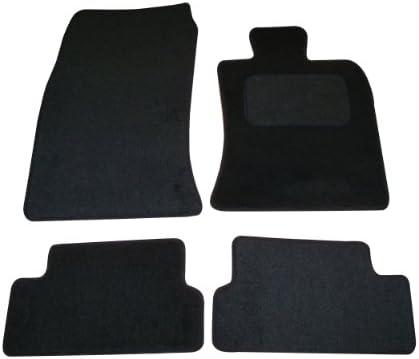 Perfect Fit Black Carpet Car Floor Mats to fit Porsche 944 82-91 with Heel Pad