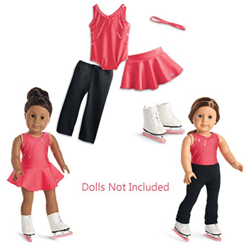 American Girl - Sparkle & Spin Skating Outfit for 18-inch Dolls - Truly Me 2016