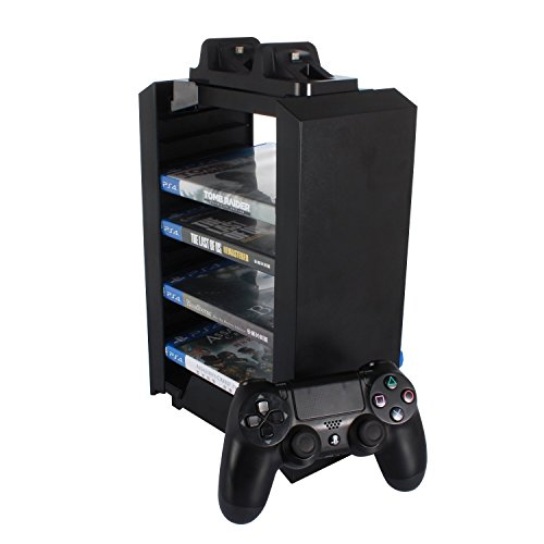 MiBoo PS4 storage Tower - Playstation 4 Console Vertical