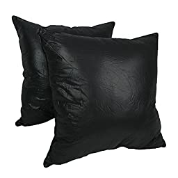 Blazing Needles Corded Floor Pillows (Set of 2), 27\