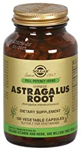 Solgar - Astragalus Root, 100 veggie caps [Health and Beauty]