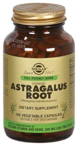 Solgar - Racine d'astragale, 100 caps de légumes