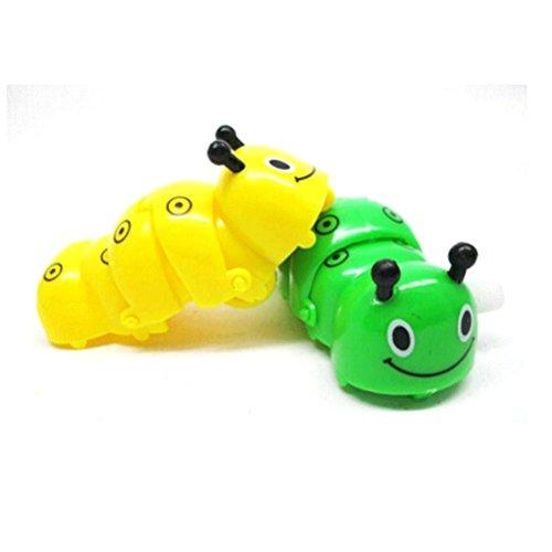 Wall E Halloween Costume (MONOMONO-Best Cute Children Fun Wind Up Toys For Caterpilla Clockwork Animal The Worm)