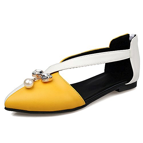 Fashion Heel - Ballet mujer amarillo