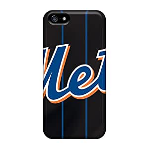 Awesome New York Mets Flip Case With Fashion Design For Iphone 5/5s