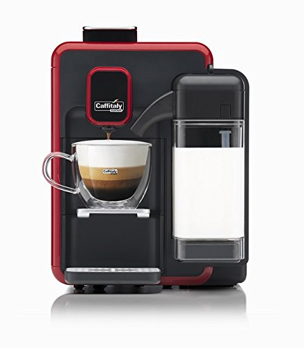 Caffitaly Cafetera System Blanca S22 Color Rojo y Negro ...