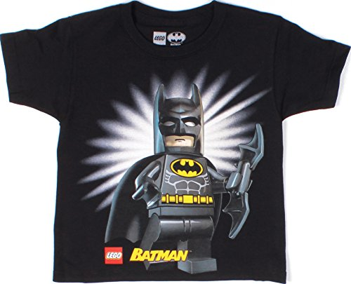 Lego Movie Batman Youth and Kids Short Sleeve T- Shirt (X-Large 14-16,