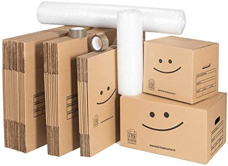 Kit cartons déménagement T3-T4