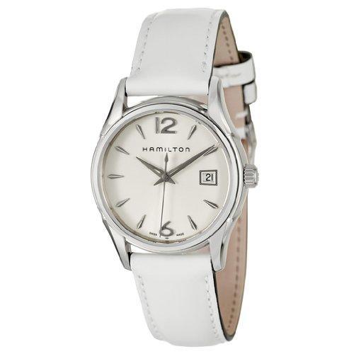 Hamilton Women's H32351915 Jazzmaster White Dial Watch