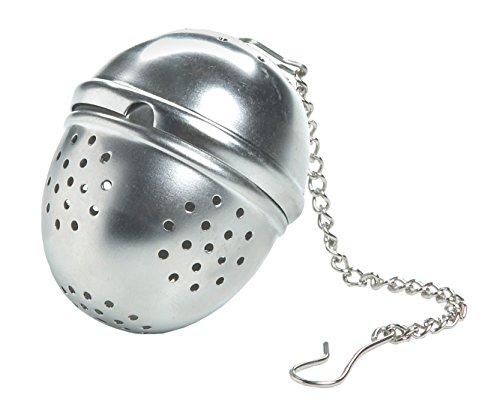 (Fox Run Stainless Steel Tea Ball with Chain)