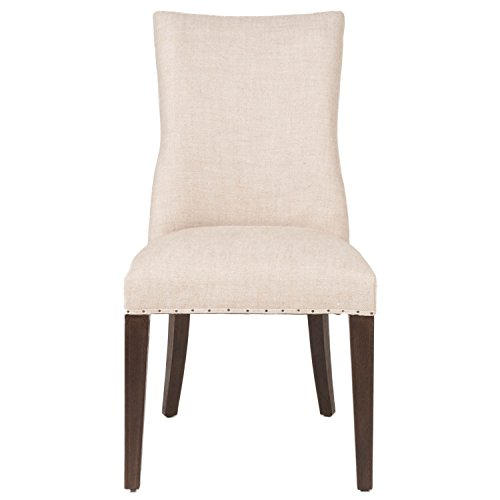 Bisque Living Room Set - Orient Express Furniture Lourdes Dining Chairs, Bisque, Set of 2