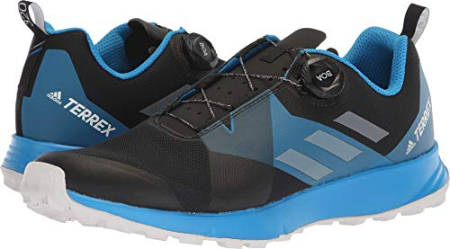 3c91a15983 adidas outdoor Men's Terrex Two BOA Black/Grey One/Bright Blue - Import It  All