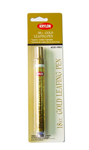 Krylon K09901A00 Leafing Pen, Gold, .33 Ounce