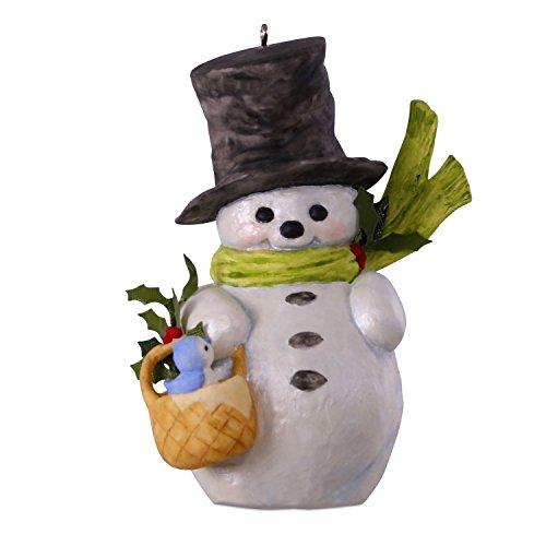 Hallmark Keepsake Christmas Ornament 2018 Year Dated, That's Snow Sweet Snowman Mary Hamilton]()