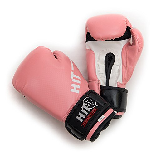HIT Boxing Gloves Rising Star Pink 6oz. HiT is an Official Sponsor of Many UFC Fighters and Pro Boxing Champions Jukado