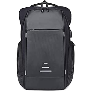 Netchain Zaino per Computer Portatile con Porta di Ricarica USB Backpack Laptop Zaino Antifurto da 15.6 Pollici Zaino… 7 spesavip