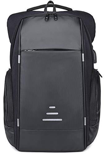 Netchain Zaino per Computer Portatile con Porta di Ricarica USB Backpack Laptop Zaino Antifurto da 15.6 Pollici Zaino… 1 spesavip
