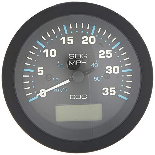 Sierra International 781-684-035P Scratch Resistant Eclipse Gauge 35 MPH GPS Speedometer, 3