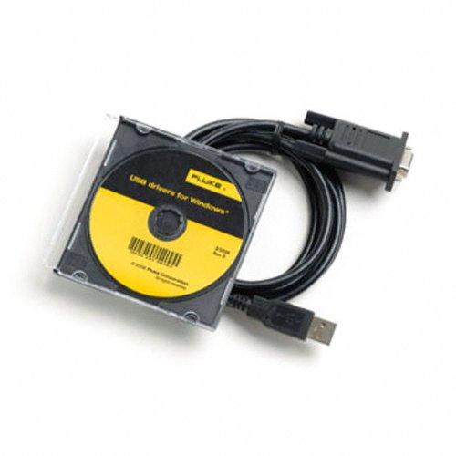 Fluke USB CABLE 2M Shielded USB to Mini-USB Cable Fluke Corporation 3671726