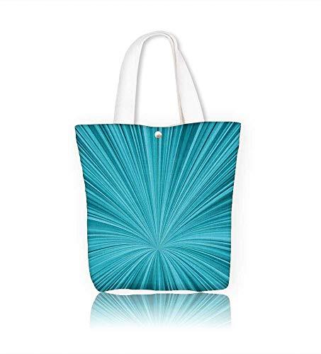 Canvas Tote BagBlue vortex Hanbag Women Shoulder Bag Fashion Tote Ba W23xH14xD7 INCH
