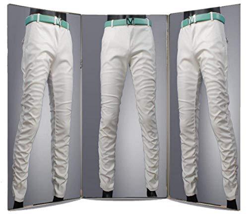 Tubo Pantaloni Slim A Jeans Pelle Vita In Uomo Bassa White Giovane Skinny Saoye Sintetica Fashion Da Ts003de q5CwCzv6