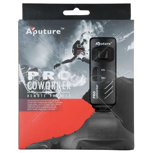 (Aputure Coworker Wireless Remote Shutter Release for Canon Cameras (Such as: EOS Rebel Series) - 1C Connection (Replaces Canon's RS 60-E3))