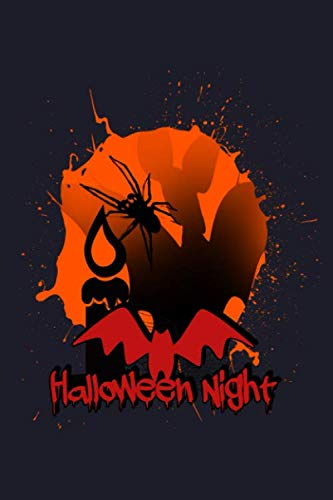 Halloween Night: Blank Paper Sketch Book - Artist Sketch Pad Journal for Sketching, Doodling, Drawing, Painting or Writing]()
