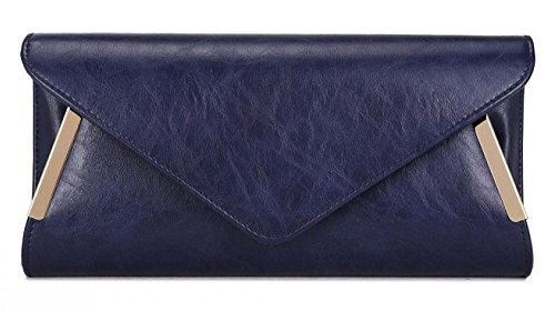 PROM CLUTCH TRIM HAND NEW LADIES GOLD Navy BRIDAL BAG PARTY ENVELOPE SIDE EVENING FBYBxzn