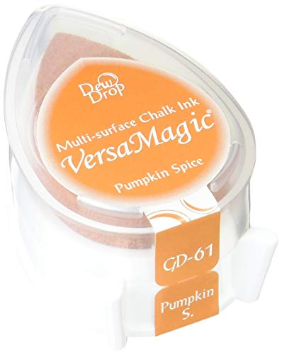 Stazon Pumpkin - Tsukineko VersaMagic Dew Drop Inkpad of All Kinds, Pumpkin Spice
